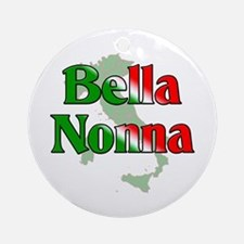 Bella Nonna Ornament (Round)
