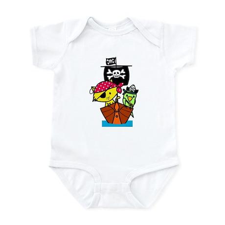 Pirate Ship Infant Bodysuit