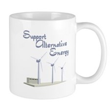 support alternative energy with windmills.png Mugs