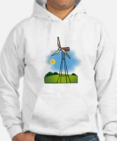 windmill in the country.png Hoodie