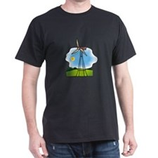 windmill in the country.png T-Shirt