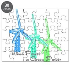 wind power is green power with 3 windmills.png Puz
