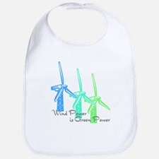 wind power is green power with 3 windmills.png Bib
