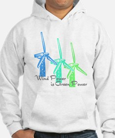 wind power is green power with 3 windmills.png Hoo
