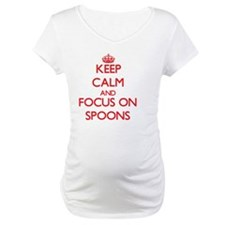 Keep Calm and focus on Spoons Shirt