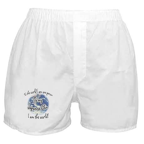 Chin World2 Boxer Shorts