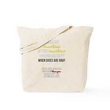 Cute Lyric Tote Bag