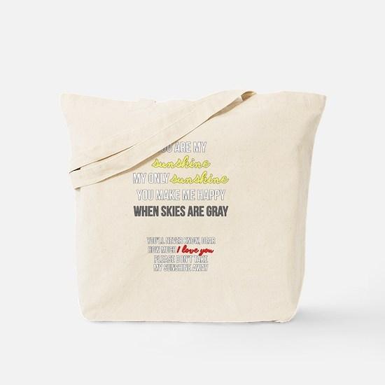 Unique Uplifting Tote Bag