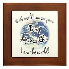 Chin World2 Framed Tile