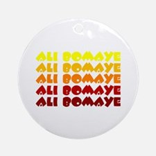 Ali Bomaye Ornament (Round)