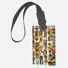 Alaphabet City Luggage Tag