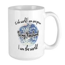 Keeshond World2 Mug