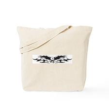 Tribal Eagle Tattoo Tote Bag
