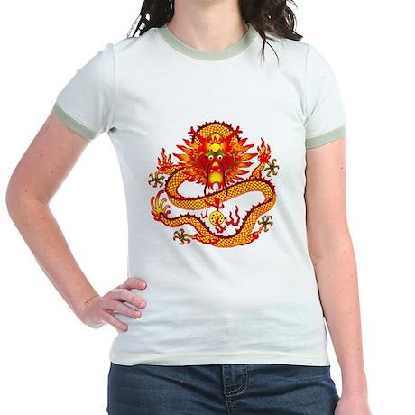 Golden Dragon Jr. Ringer T-Shirt
