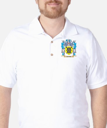Eaton Coat of Arms - Family Crest Golf Shirt