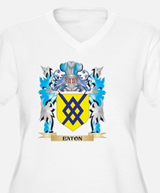 Eaton Coat of Arms - Family Crest Plus Size T-Shir