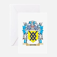 Eaton Coat of Arms - Family Crest Greeting Cards