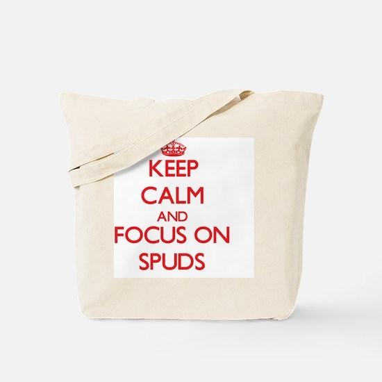 Funny Spuds mackenzie Tote Bag