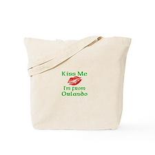 Kiss Me I'm from Orlando Tote Bag