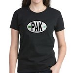 Pakistan Intl Oval Women's Dark T-Shirt