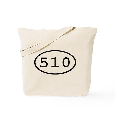 510 Oval Tote Bag