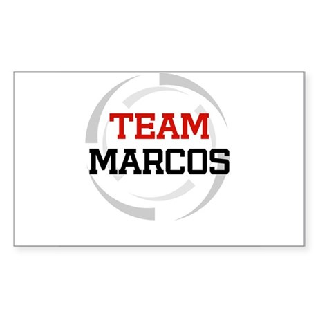 Marcos Rectangle Sticker