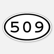 509 Oval Oval Decal