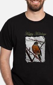 Holiday Robin T-Shirt