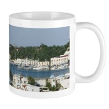 ISCHIA PORTO: Town & Port View / Late A Mug
