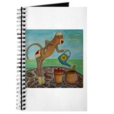Garden Sock Monkey Journal