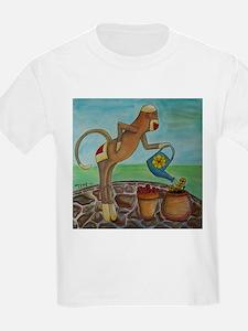 Garden Sock Monkey T-Shirt