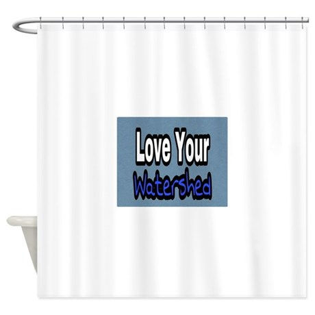love your watershed shower curtain