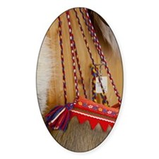 Traditional items made from raindee Decal