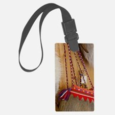 Traditional items made from rain Luggage Tag