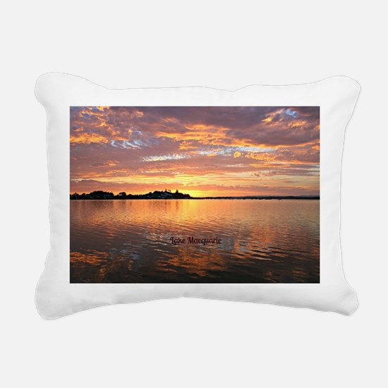 Lake Macquarie, New Sout Rectangular Canvas Pillow