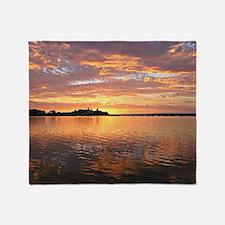 Lake Macquarie, New South Wales Throw Blanket