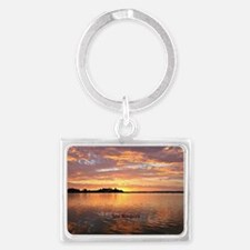 Lake Macquarie, New South Wales Landscape Keychain