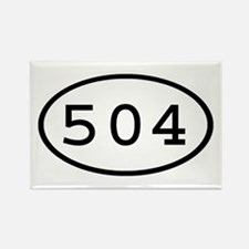 504 Oval Rectangle Magnet