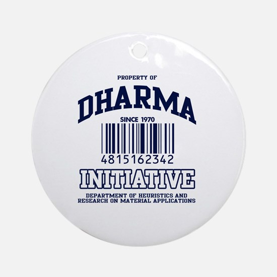 DHARMA Uni Ornament (Round)