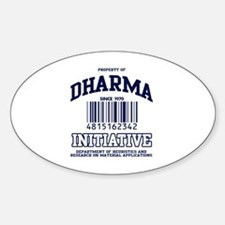 DHARMA Uni Oval Decal