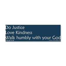 Religious liberal Car Magnet 10 x 3