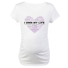 I Own My Life_Purple Heart Shirt