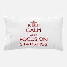 Cute Statistics Pillow Case