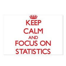 Cute I love stats Postcards (Package of 8)