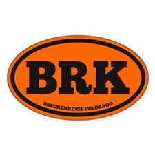 Breckenridge Chunky Decal