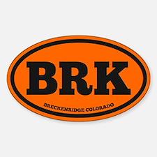 Breckenridge Chunky Sticker (Oval)
