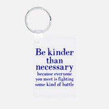 BE KINDER (2-sided) Keychains