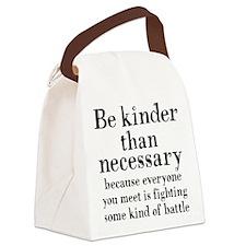 BE KINDER Canvas Lunch Bag