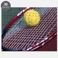 Tennis Ball & Racket Puzzle