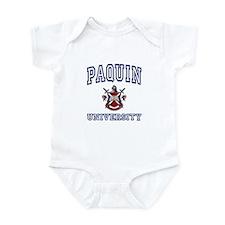 PAQUIN University Infant Bodysuit